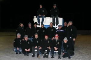 Eisstock Mannschaft